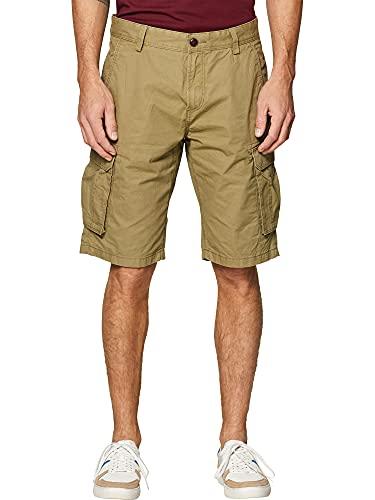 ESPRIT Herren 999EE2C802 Shorts, Grün (Olive 360), 34 W