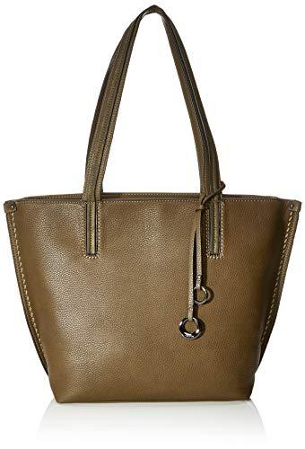 Gabor Shopper Damen Cosima, Grün (Khaki), 43x29x13 cm, Gabor Tasche Damen