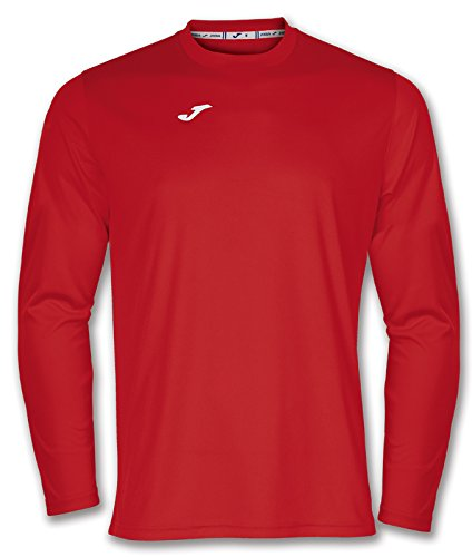 Joma 100092.600 - Camiseta de equipación de Manga Larga para Hombre, Color Rojo, Talla L