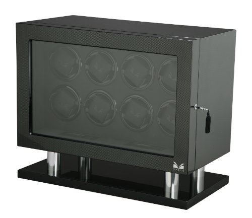 Volta 31-560080 Signature Series Eight (8) Carbon Fiber Watch Winder