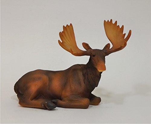 Klp Elch Hirsch Rentier REH Bock Deko Garten Tier Figur Skulptur Statue Gartendeko