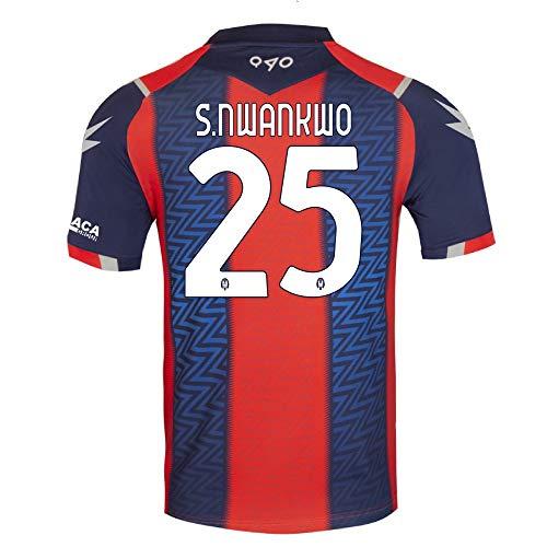 Zeus 1 Maglia Ufficiale F.C. CROTONE Calcio 20/21 Home Personalizzata S.NWANKWO (SIMY)