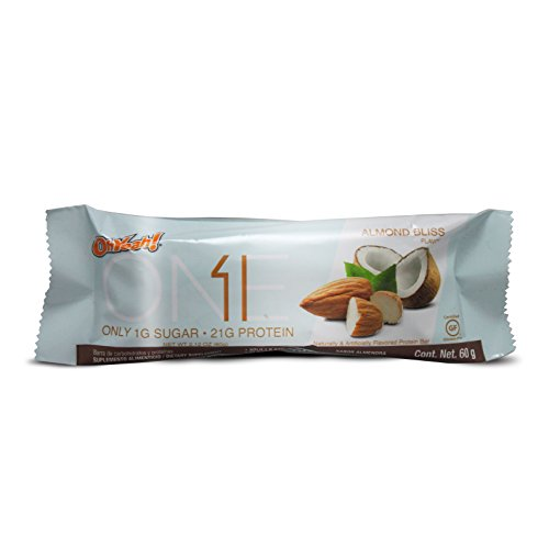Iss Oh Yeah One Bar, Almond Bliss, 12 Count by ISS
