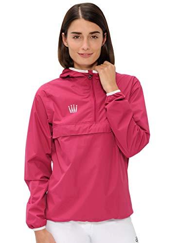 SPOOKS Damen Jacke, leichte Damenjacke mit Kapuze, Herbstjacke - Kaya Rain Jacket Pink XL