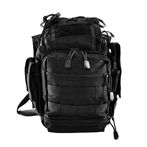 VISM by NcStar PVC First Responders Utility Bag (CVRB2918B), Black