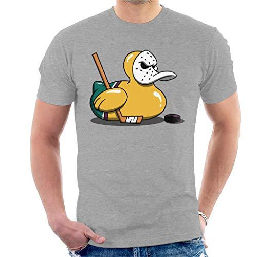 Mighty Ducks Cute Rubber Duck Goalie Men\'s T-Shirt