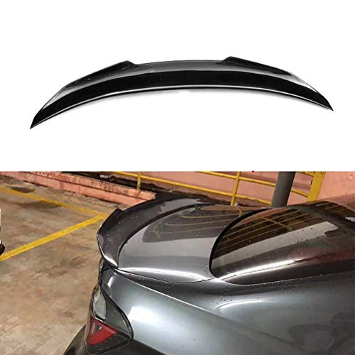 wuwenjun Carbon Heckspoiler Heckspoiler Heckstoßstangenflügel Flügel für BMW 3er F30 M3 F80 2012-2017 320i 318d 316d 328i 335i