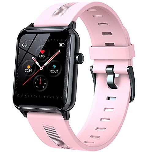 ZRY Y95 Multifuncional Smart Watch IP68 Impermeable Deportes Deportes Smartwatch Monitor De Ritmo Cardíaco Monitor De Fitness Pulsera Bluetooth para Android iOS,A