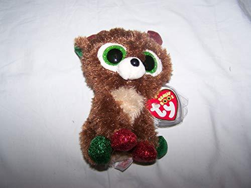 TY/Beanie Boos 6' CHRISTMAS LIMITED EDITION Fudge, Perfect Plush!