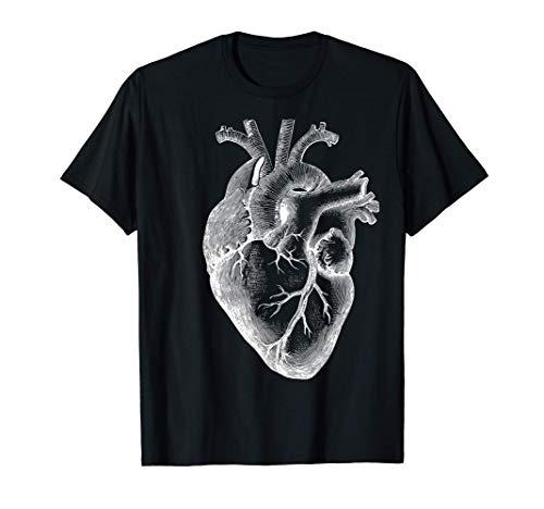 corazón humano anatómico Anatomía del corazón Camiseta
