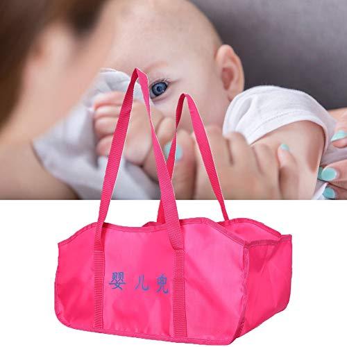 Sac de pesage portatif pour bébé, accessoire de sac à main lavable en tissu durable doux, poche en tissu de pesage pour bébé pour balance électronique suspendue
