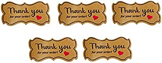 Thank You Stickers Roll (500 PCS)
