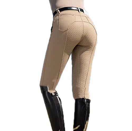 Damen Bogenschießen Hosen Stretch Reithose Griff mit Silikon rutschfesten Gürtel Reißverschluss anmutige Kurve Hosen