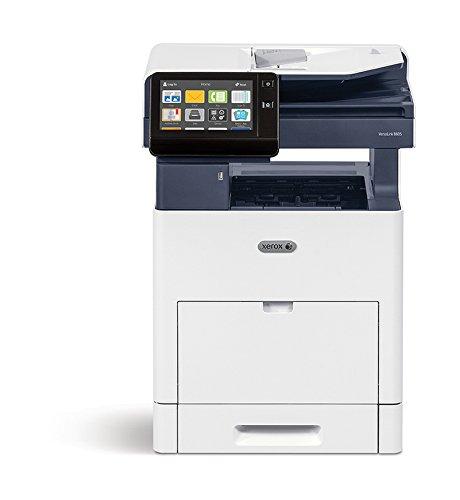 Xerox VersaLink B605V_XL Multifuncional Laser 55 ppm 1200 x 1200 dpi A4 - Impresora multifunción (Laser, Impresión en Blanco y Negro, 1200 x 1200 dpi, 700 Hojas, A4, Azul, Blanco)