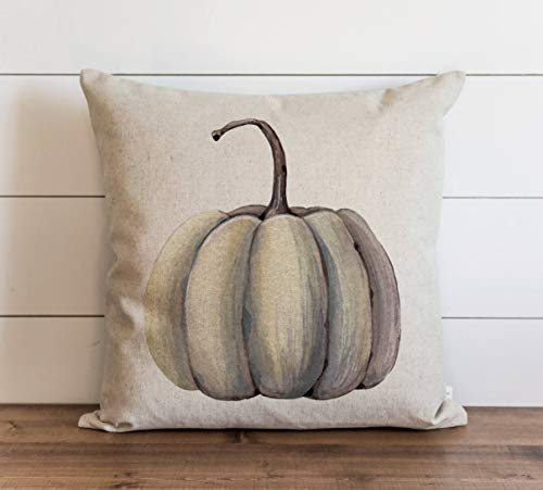 Zucca {Style 1} 18 x 18 Cuscino Zucca Autunno Ringraziamento Throw Pillow Gift for Her Accent