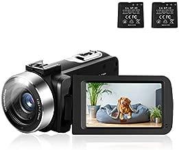 Video Camera for Vlogging Digital Camera Camcorder 30MP 3.0 Inch KOMERY Camera 1080P 30FPS FHD 270 Degree Rotation Screen 16X Digital Zoom Video Recorder