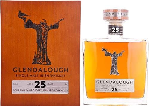 Glendalough 25 Years Old Single Malt Irish Whiskey IRISH OAK FINISH Whisky (1 x 0.7 l)
