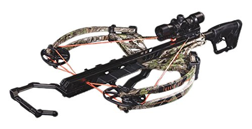 Bear X Crossbows Archery Torrix FFL Crossbow Package, 34', Realtree Extra