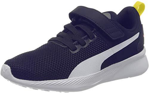 PUMA Flyer Runner V PS, Sneakers Unisex-Bambini, Blu (Galaxy Blue White/Peacoat/Meadowlark), 30 EU