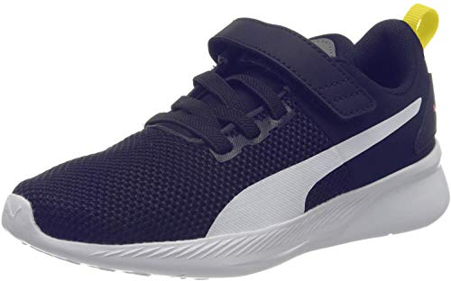 Puma Flyer Runner V Ps, Unisex-Kinder Sneaker, Blau (Galaxy Blue-Puma White-Peacoat-Meadowlark 05), 35 EU