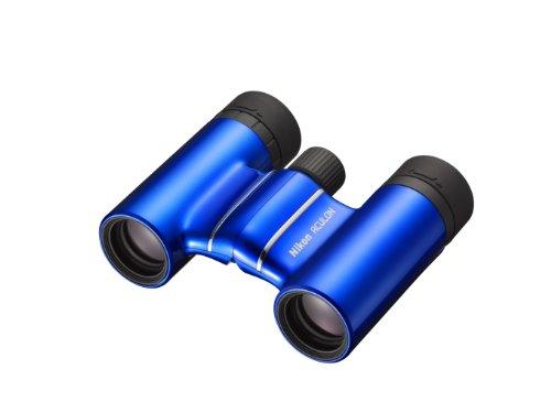 Nikon Aculon T01 8X21 - Binoculares (ampliación 8X, Campo de visión 6,3°, pupila Salida 2,6 mm), Color Azul