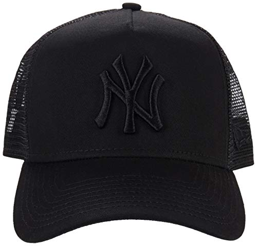 New Era ERA Clean Trucker Gorra, Unisex Adulto, Negro, Talla