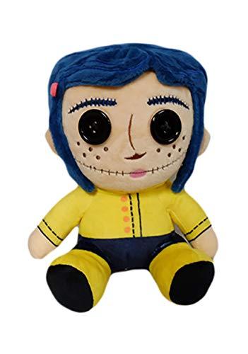 Unbekannt Coraline Phunny Plush Figure Button Eyes Coraline 18 cm Kidrobot sche