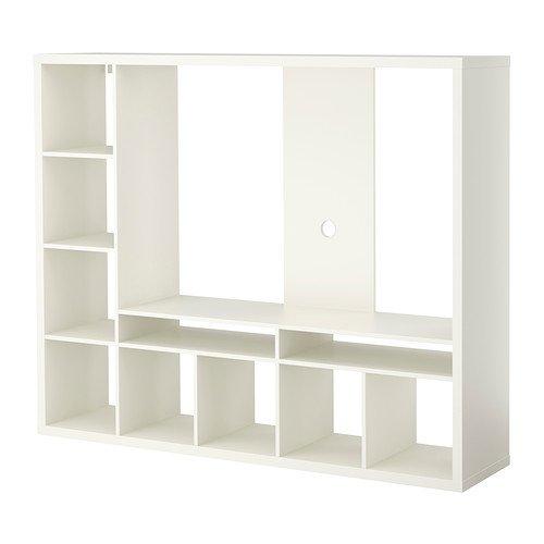IKEA LAPPLAND TV storage unit, white 72x57 7/8, 34210.26175.1212