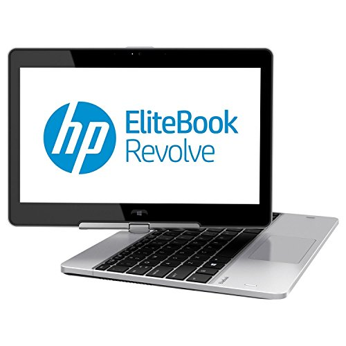HP Elitebook Revolve 810 G2 Touchscreen 11.6in LED Convertible Notebook- Core I5 4200U - Windows 10 Pro 64-Bit - 8 GB RAM - 180 GB Ssd (Renewed)