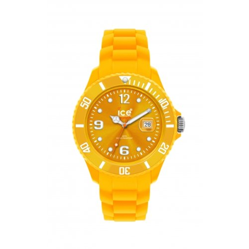 Ice-Watch Unisex Armbanduhr Big Big Sili Collection Orange SI.GL.B.S.10