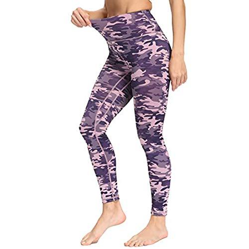 NAQUSHA Leggings de yoga elásticos sin costuras para mujer, levantamiento de glúteos, gimnasio, correr, ajustados, color sólido, pantalones de longitud completa