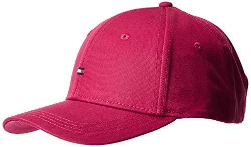 Tommy Hilfiger Damen BB Baseball Cap, Violett (Beet Red 529), One Size (Herstellergröße:OS)