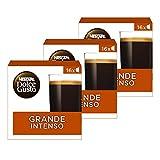 Nescafé Dolce Gusto Café GRANDE INTENSO - Pack de 3 x 16 cápsulas - Total: 48 Cápsulas
