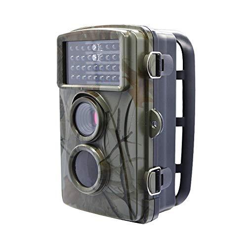 AI CHEN Wildlife Trail Camera , 1080P Trail Camera IP66 Telecamera da Caccia Impermeabile HD Telecamera a infrarossi con Visione Notturna per Il monitoraggio della Fauna Selvatica all'aperto