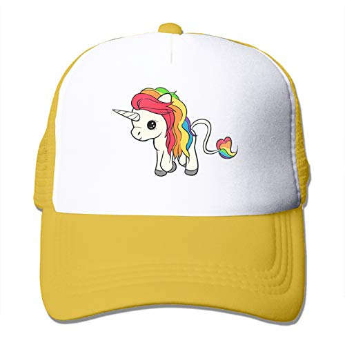 YeeATZ Kexiaos Rainbow Unicorn Baseball Snapback Cap Trainer Hat For Adult