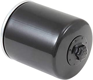 K&N Motorcycle Oil Filter: High Performance Black Oil Filter with 17mm nut designed to be used with synthetic or conventional oils fits 1996-2018 Harely Davidson, Buell Motorcycles KN-171B