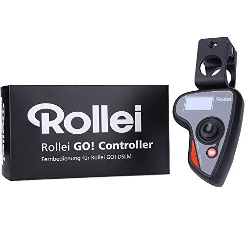 Rollei Go! Controller zur Fernbedienung des Rollei Go Gimbal DSLM, die perfekte Ergänzung für die Bewegungssteuerung mit OLED-Display