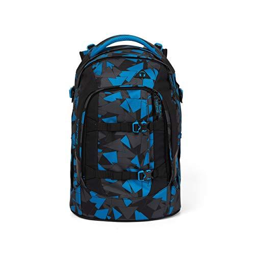 Satch pack Schulrucksack - ergonomisch, 30 Liter, Organisationstalent - Blue Triangle - Blau