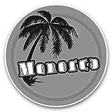 Impresionantes pegatinas de vinilo (juego de 2) 15 cm (bw) – Menorca Sunset Travel Holiday sellos divertidos para portátiles, tabletas, equipaje, libros de chatarra, neveras, regalo genial #40649