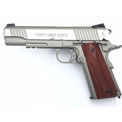 Cybergun Colt 1911 Rail Gun Stainless Co2 Calibre 6mm. 1.1 Julios de Potencia
