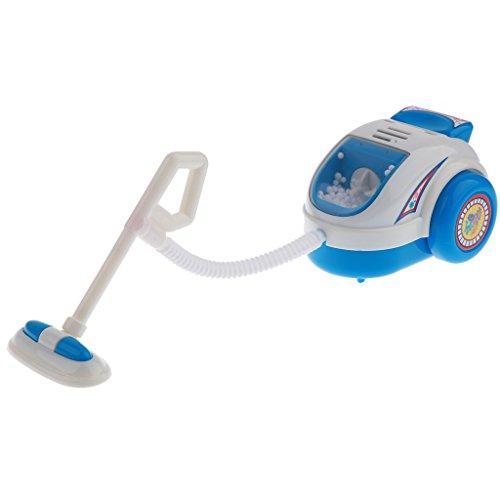 Homyl Kinderküche Rollenspielzeug - Elektronisch Kunststoff Haushaltsgerät Elektrogeräte Spielzeug - Staubsauger