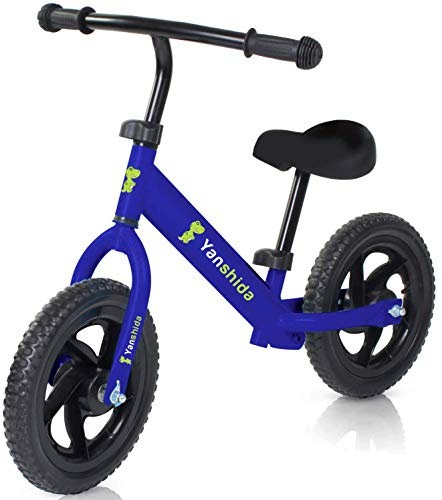 Kids Balance Bike, Lightweight Balance Bike for Kids and Toddlers 2, 3, 4, 5, 6 Year Old, No Pedal Sport Training Bicycle Pre Walking Bike for Children by Yanshida