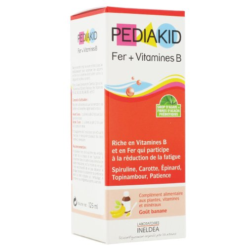 Pediakid Iron + Vitamin B 125ml