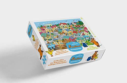 Die Maus Puzzle: XXL - Bodenpuzzle mit 48 großen Teilen ab 3 Jahren - Mein riesengroßes Sendung mit der Maus Wimmelpuzzle