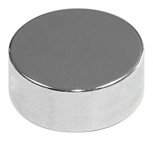 Mag-Mate Disc, Neodymium, 1/4 in. - NE2225NP35 Pack of - 20