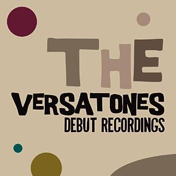 The Versatones: Debut Recordings
