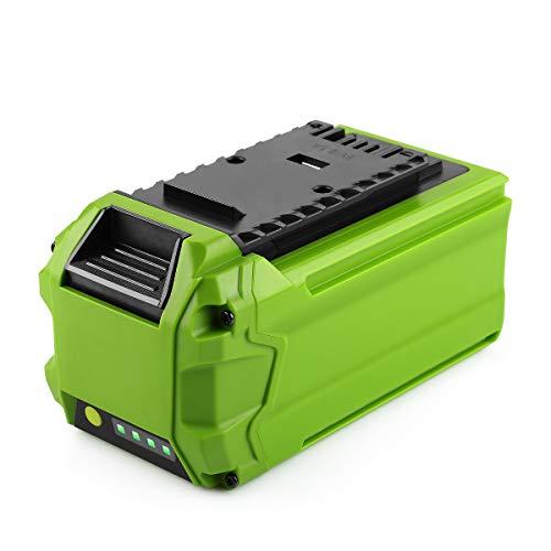 Energup 40V 2500mAh Li-ion Ersatz Akku für alle GreenWorks 40V G-MAX Werkzeuge 29462 29252 20202 22262