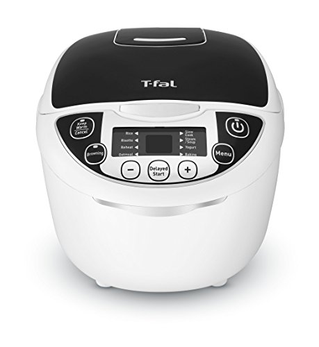 T-fal RK705851 10-In-1 Rice and Multicooker with 10 Automatic...