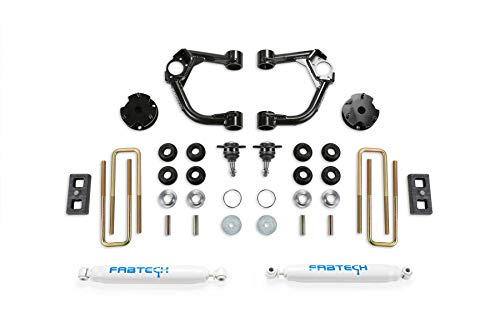 Fabtech K2322 Ball Joint Control Arm Lift System 3.5 in. Lift w/Rear Performance Shocks w/o Intrusion Beam Kit Incl. PN [FTS22293/FTS7265] Ball Joint Control Arm Lift System