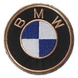 PATCHMANIA B.M.W. Logo 7,6 CM Parche, Parches Termoadhesivos,Parche Bordado para la Ropa Termoadhesivo